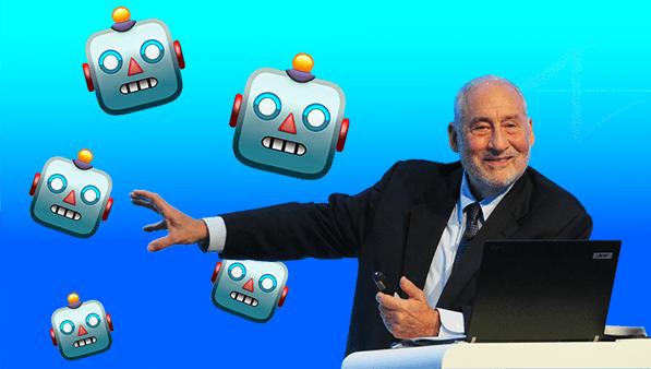 AI And Robotisation Of Workplace - Joseph Stiglitz