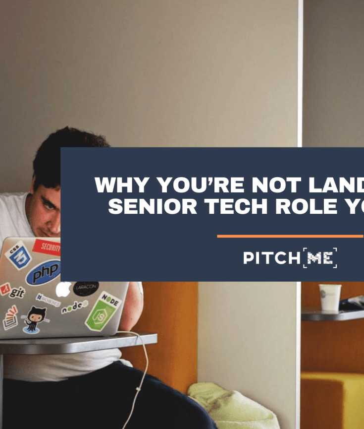 not getting the senior role