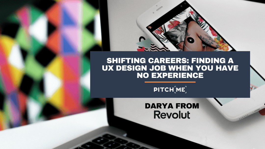 Finding a ux designer job with no experience image