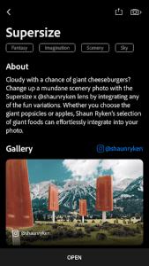 Photoshop Camera app Supersize filter by Shaun Ryken 2
