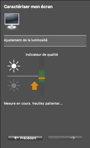 Bonnes pratiques pour caractériser votre écran-ajustez la luminosité