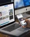 Macbook Pro Mockups For Business Websites Placeit Blog