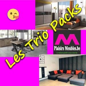 Les Trio Pack Plaisirs Meubles