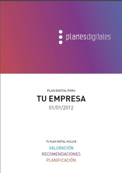 portada de un plan de marketing digital
