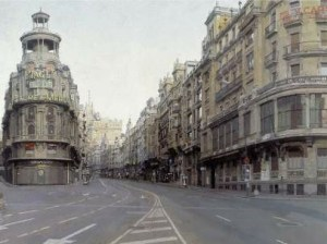 Gran Via de Madrid de Antonio Lopez