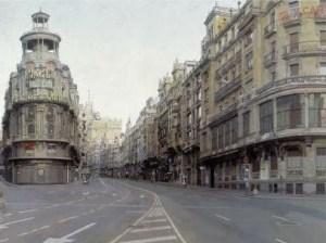 Gran Via de Madrid de Antonio Lopez