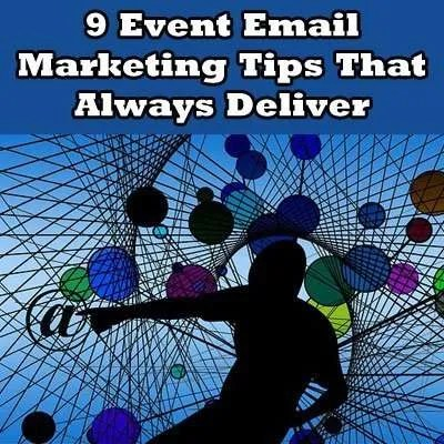 Event Email Marketing Tips