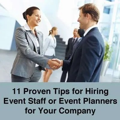 Hiring Event Staff and Event Planners