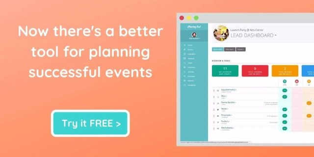 Plan Successful Events with Planning Pod Software