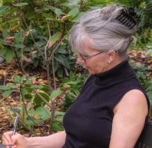 Anita in the Garden