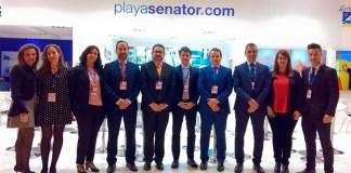 Equipo de Playa Senator en Fitur 2017