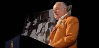 Jose María Rossell durante su discurso en la gala