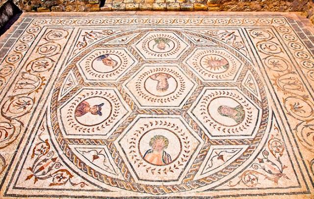 Mosaicos de Itálica