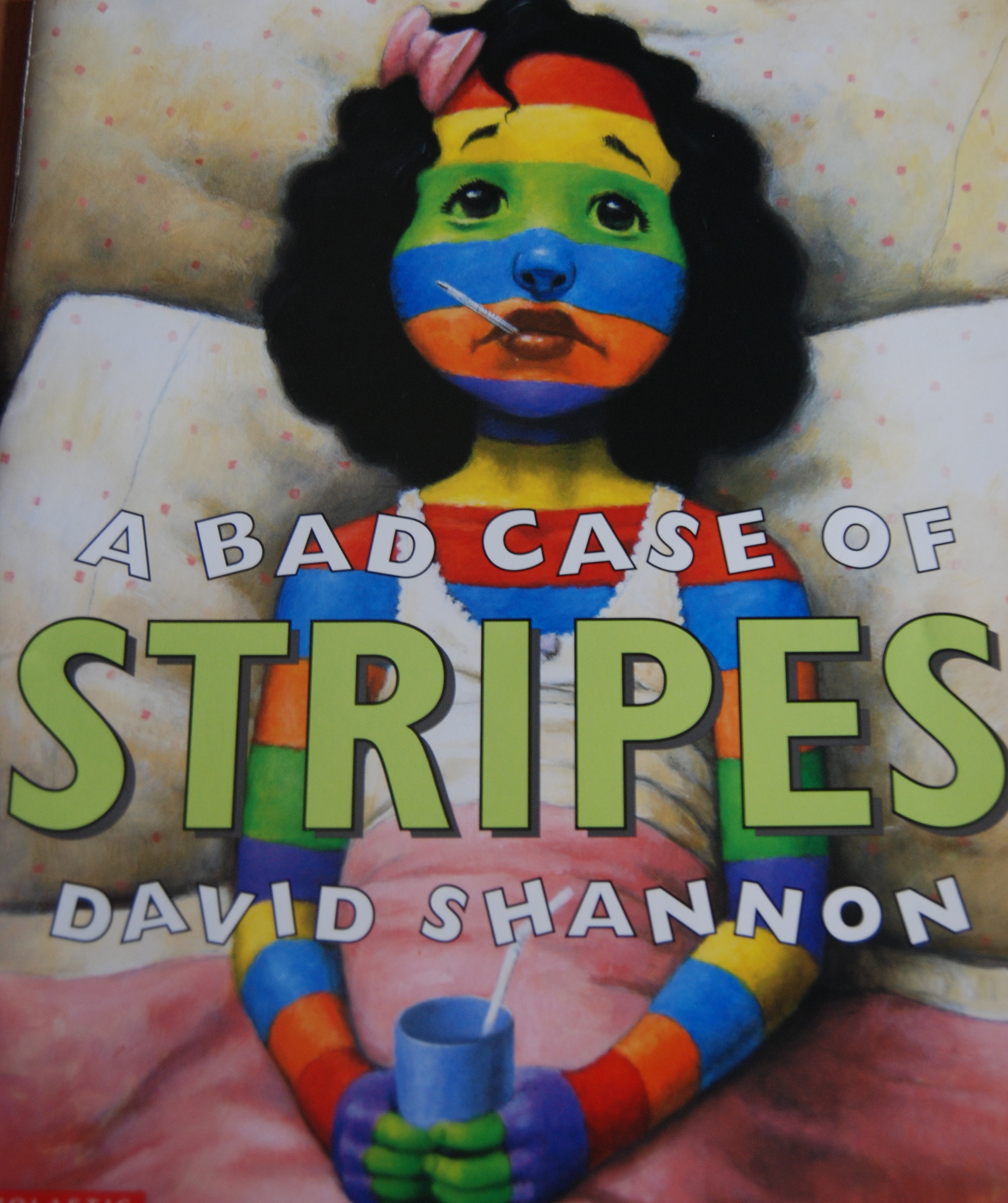 Be True To Yourself A Bad Case Of Stripes Activity