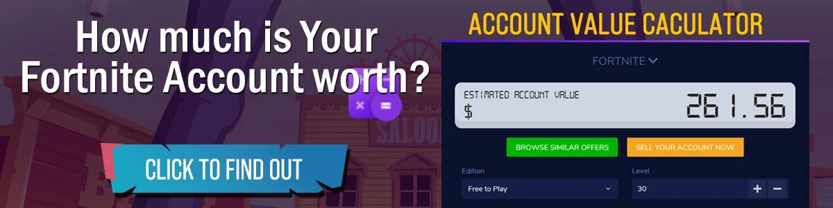 Fortnite Account Value Calculator