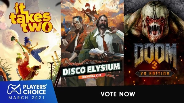 Players' Choice: Vote for March's best new game 2