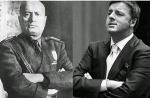 Renzi-Mussolini