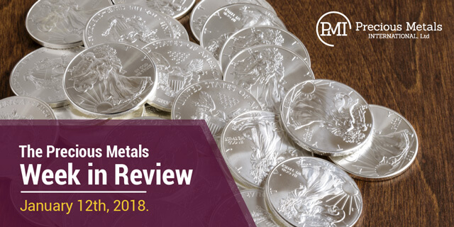 The Precious Metals Week in Review - January 5, 2018