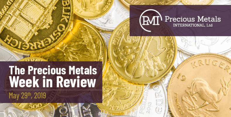 The Precious Metals Week in Review - May 29th, 2020.