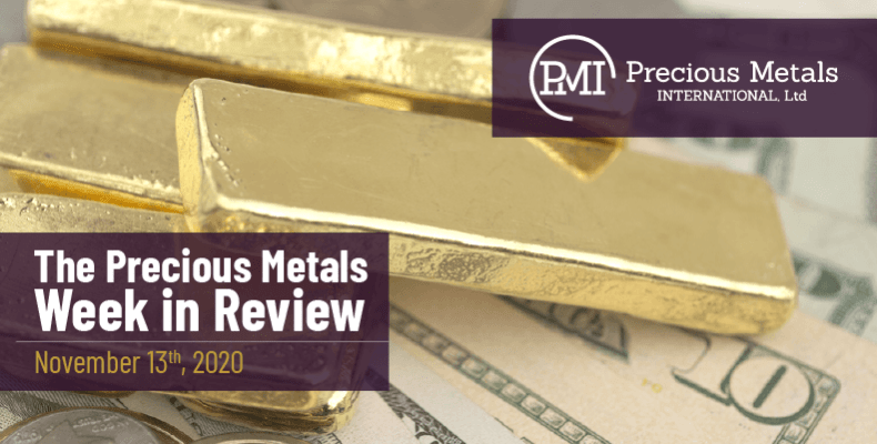 The Precious Metals Week in Review - November 13th, 2020.