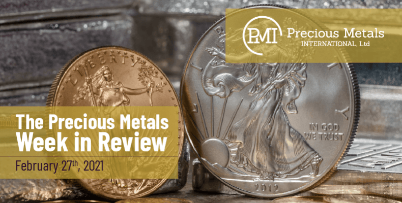 The Precious Metals Week in Review - February 27th, 2021.