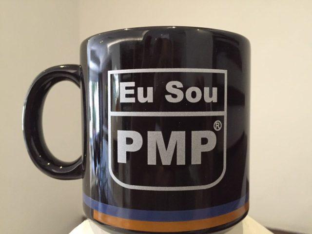 Caneca Eu Sou PMP da PM Tech