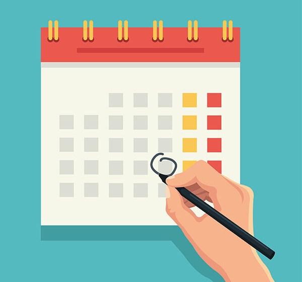 Baixe o nosso calendário 2019 e fique por dentro das datas mais importantes do ano