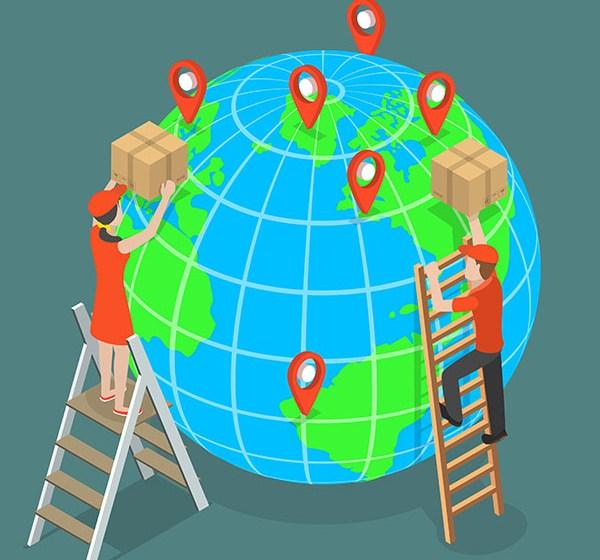 Análise do e-commerce no mundo na segunda metade de 2018