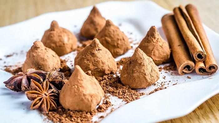 truffles no bake