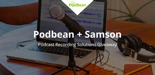 podbean-samson-giveaway-news