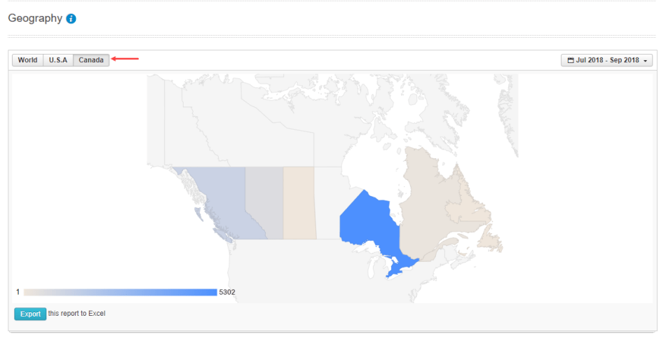 Canada Province Stats
