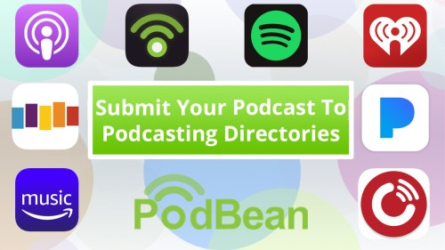 submit your podcast to podcasting directories