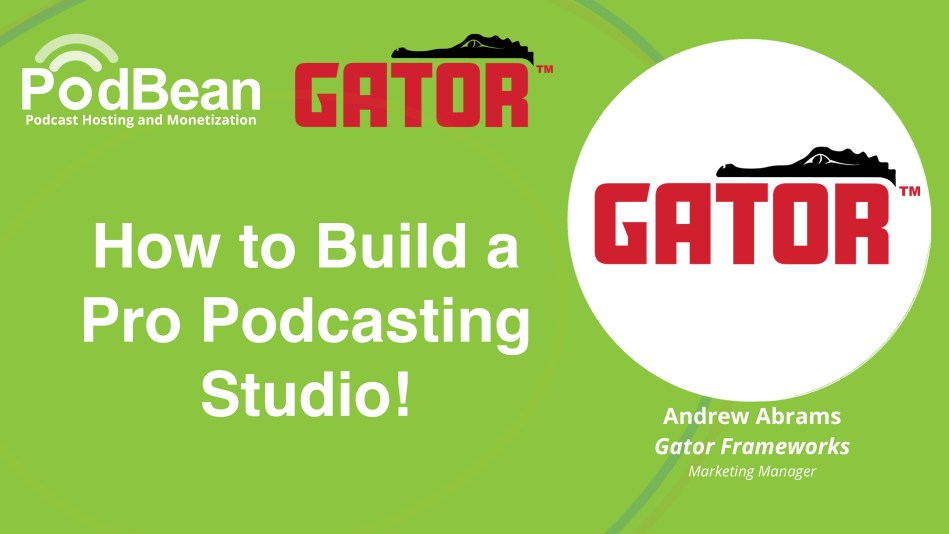 How to Build a Pro Podcasting Studio