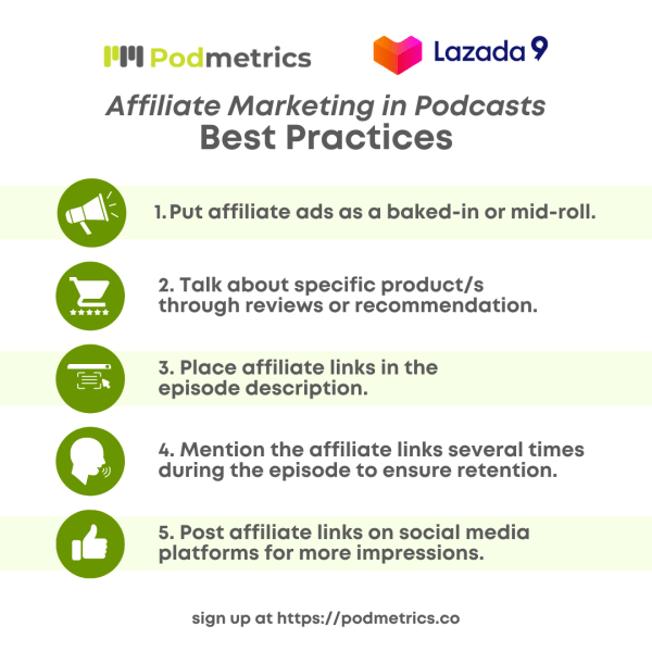 Affiliate Marketing in Podcast Best Practices