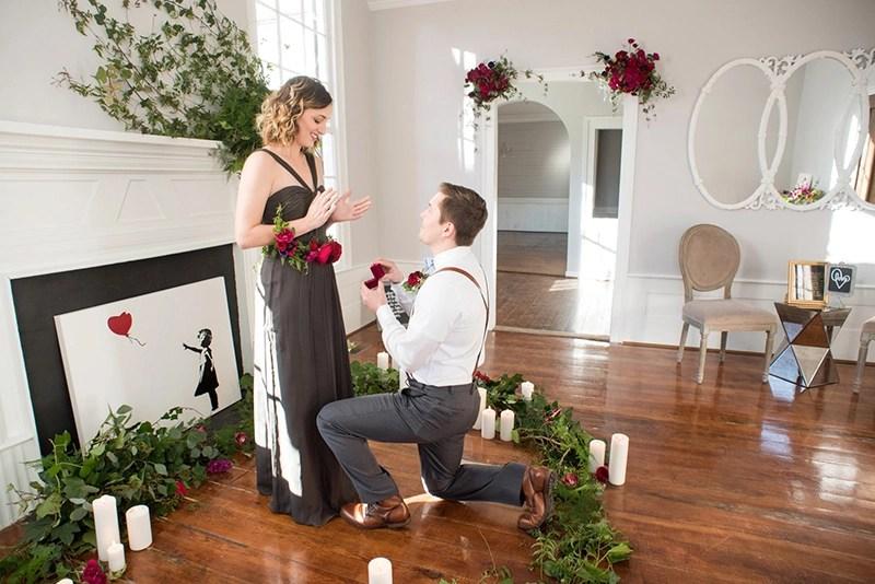 20 Ideias De Decorao Para Pedido De Casamento Posie