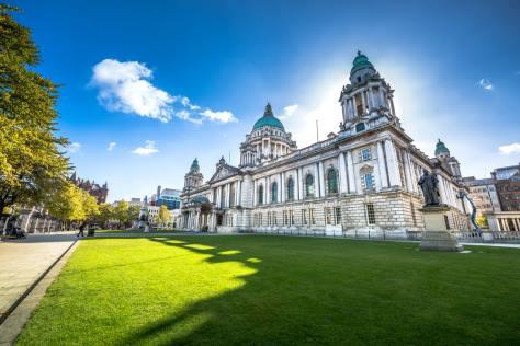 Larne harbour to Belfast: Belfast City