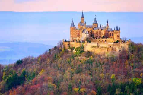 Germany's Black Forest: Black Forest Hohenzollern Castle