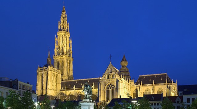 Churches in Belgium: Cathedral of Our Lady in Antwerp