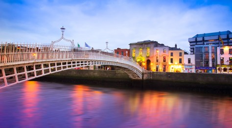 Liffey Bridge Dublin