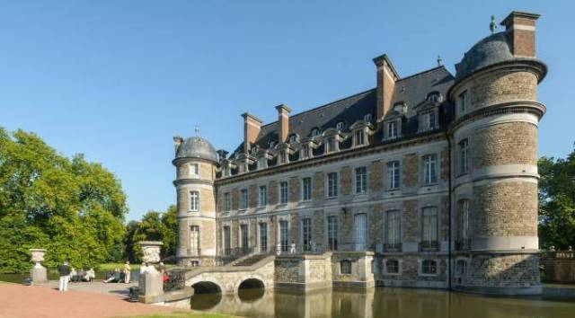 A Day in Mons: Chateau DeBeloeil