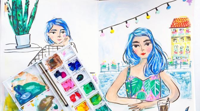 Water Colours Competition: Turn Your Travel Photo into a Work of Art