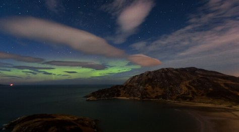 The Northern Lights in Ireland