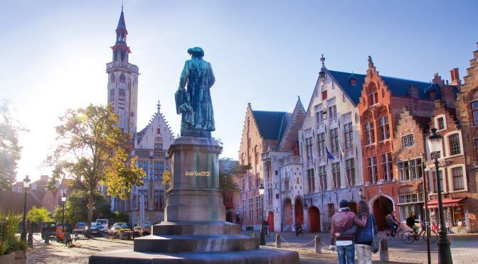 Bruges couple