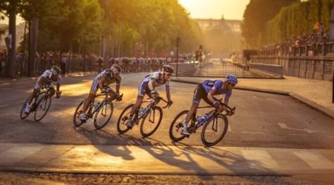 Le Tour de France in Paris