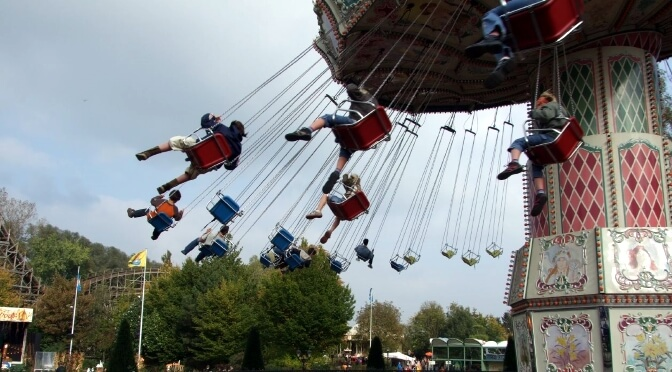 A day at Wavre's Aventure Parc, Wallonia