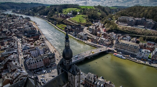 View of Dinant, Wallonia