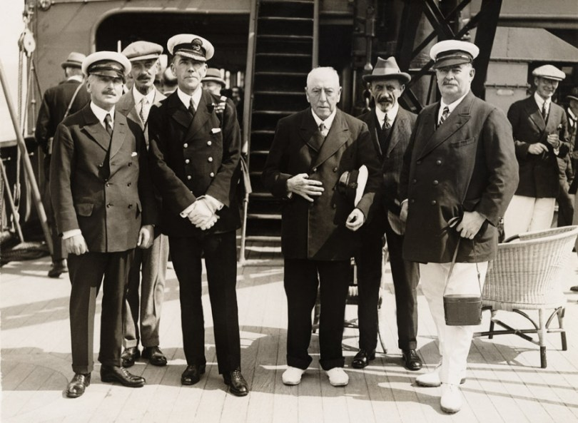 Lord Inchcape on a P&O ship