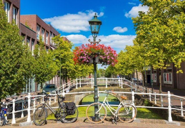 Delft is the perfect destination for a cycling city break away from the crowds