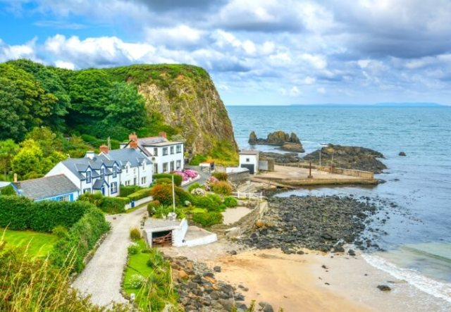 Picturesque pubs and cottages are aplenty along the Antrim Coast
