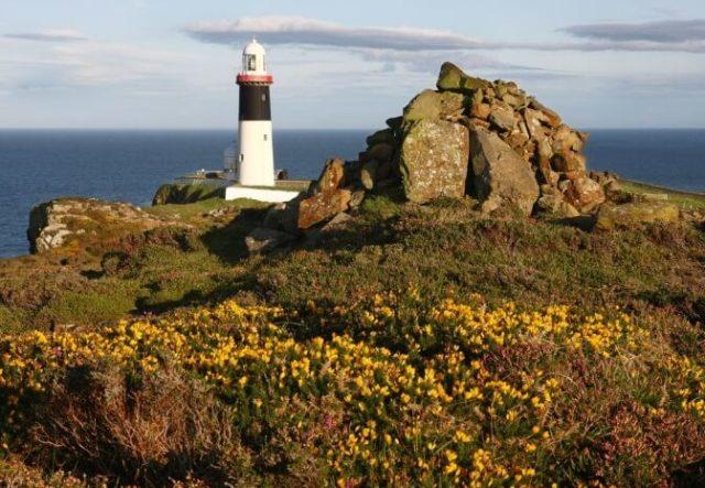 East Lighthouse Rathlin Island by Bernie Brown